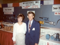 Lori Wesbrooks Stone and Garland Foster, Shop Program Manager for TravelCenters of America during the TA Show in Nashville in 1994.